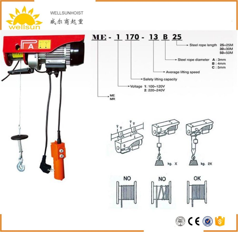 medium resolution of china portable and durable small home lift electric hoist winch with elevator motor china hoist electric hoist