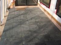 China Green Slate Flooring Tile - China Slate Tile, Green ...