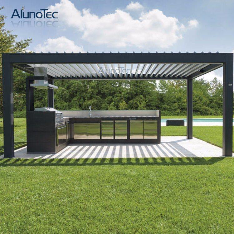 china waterproof aluminum patio deck