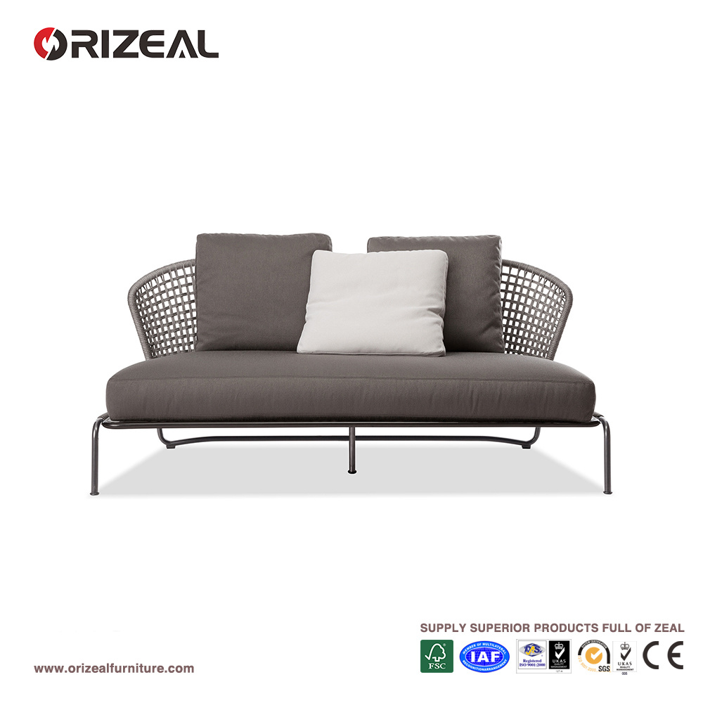 2 seater love chair large recliner china outdoor aston cord sofa oz or029 patio