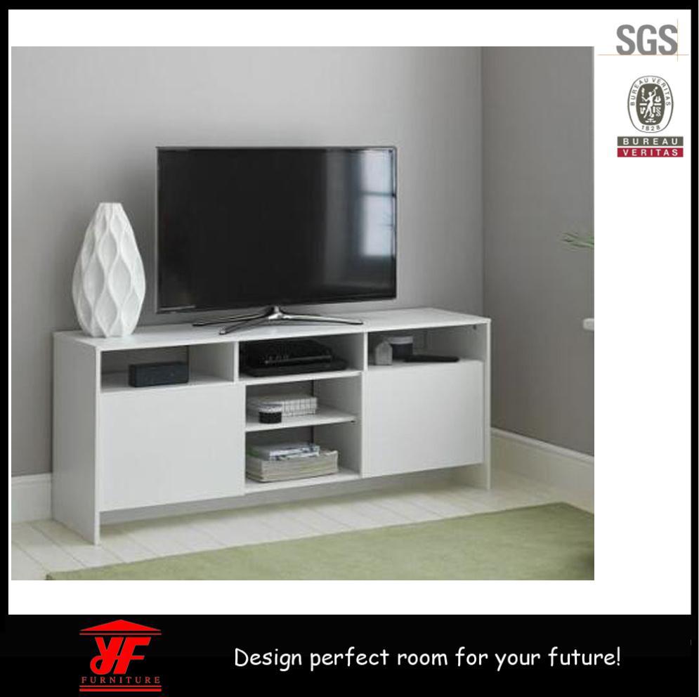 bois meuble tv led meubles design