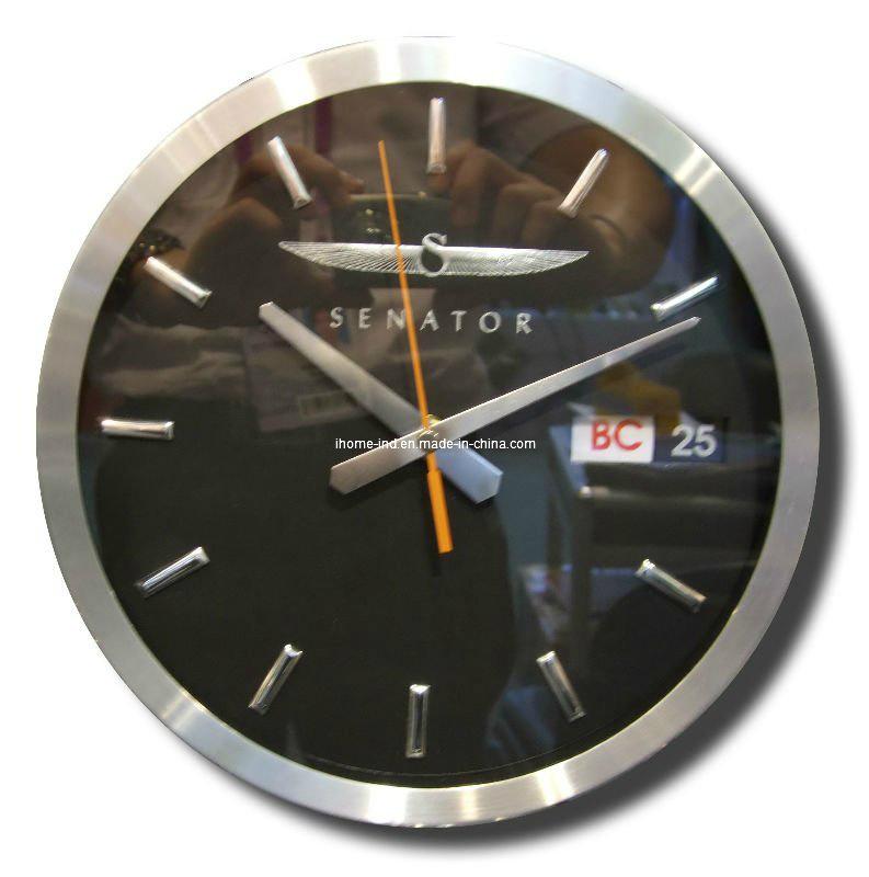 horloge murale date et jour