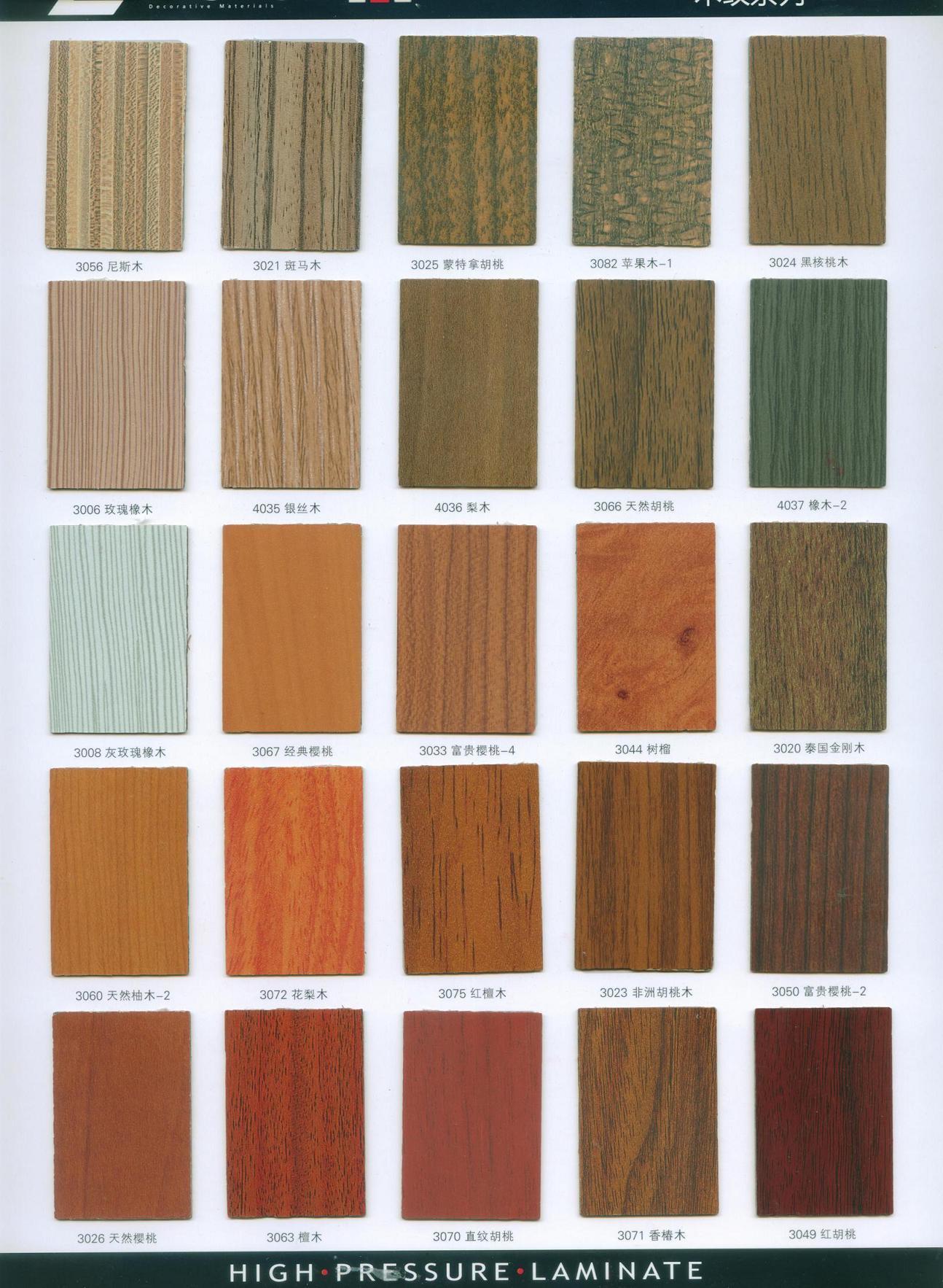 Foto de Hoja de madera Slaes del Formica del color del