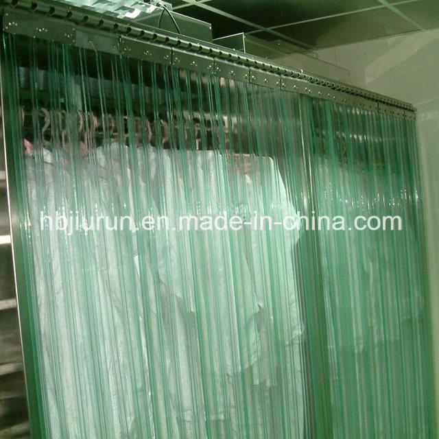chine rideau de plastique transparent