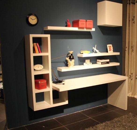 Hogar moderno escritorio de madera LSZ07  Hogar moderno