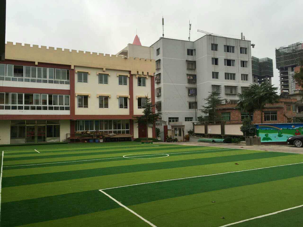 Paesaggio artificiale Wy2 del tappeto erboso foto su itMade inChinacom