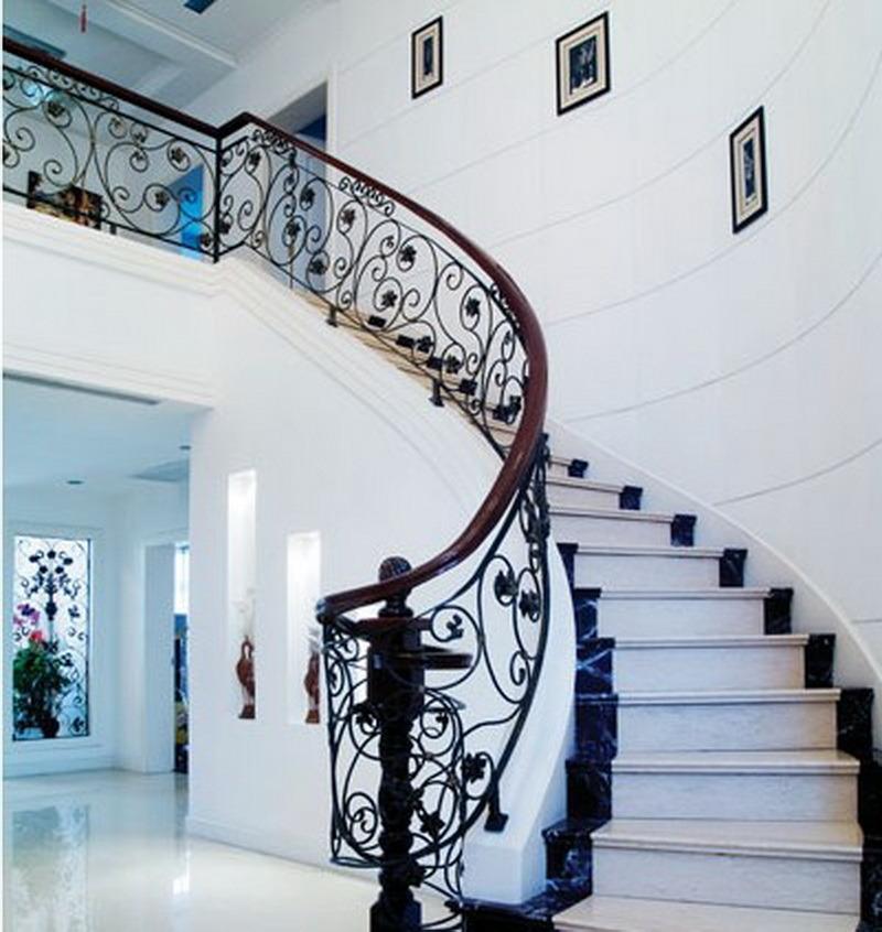 Pasamanos Escalera Interior Pasamanos De Escaleras