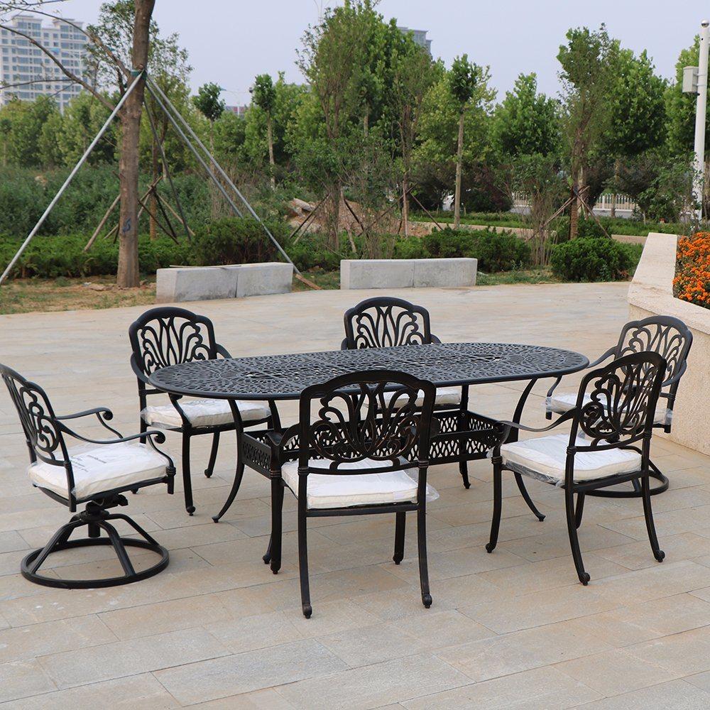 les meubles de patio en plein air camping leger en aluminium table chaises de jardin