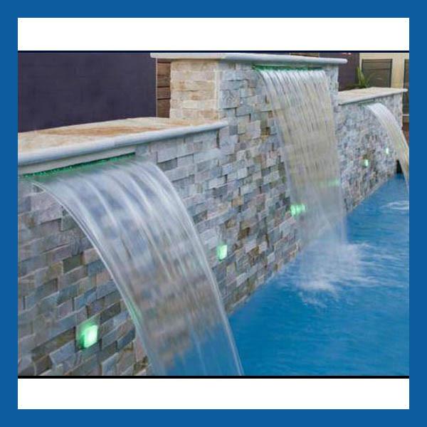 chine piscine cascade fonction de l
