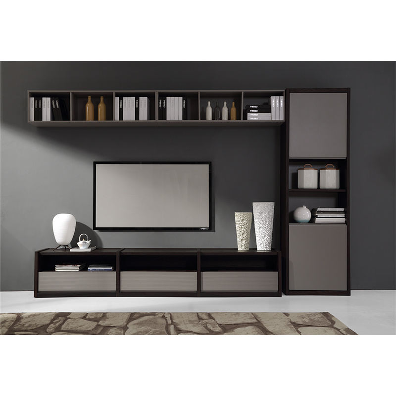 salon meuble tv a montage mural