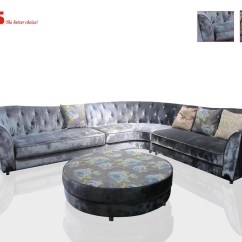 Sofa Company Nl Dining Room Table Behind Chesterfield Lr625 In Fabric