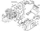 China Stihl Chain Saw Muffler Brake System (MS380, MS381