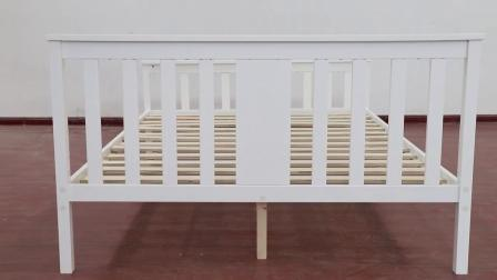 china queen size solid wood bed frame