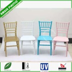 Plastic Resin Chairs High Top Table Folding China Clear White Wedding Party Children Chiavary