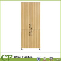 China Tall Vertical Wooden Thin File Cabinet - China ...