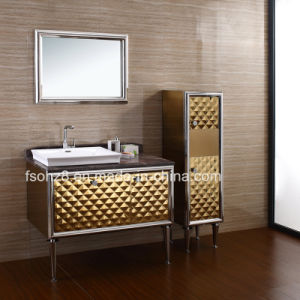 China Stainless Steel Bathroom Vanity Side Cabinet With Legs China Bathroom Vanity Bathroom Vanity With Legs