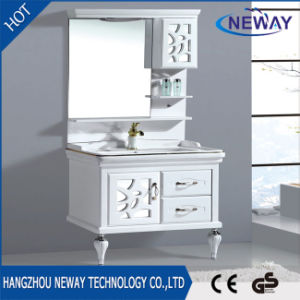 China New Floor Standing Mirror Cabinet Design Pvc Bathroom Cabinet China Bathroom Vanity Bathroom Furniture