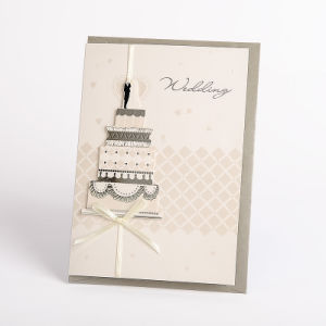 Deluxe Latest Handmade Wedding Invitation Card Designs With Pearl Paper Envelope