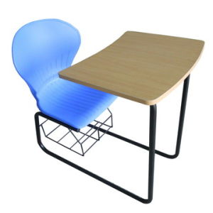 chair connected to desk nursery rocking chairs australia china student with writing pad for hot sale zhejiang basic info