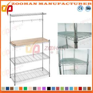 kitchen wire rack discontinued cabinets china 3 shelving chrome or baked zhw8