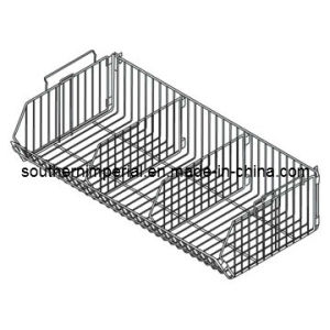 China Pegboard/Slatwall Metal Mesh Basket Retail