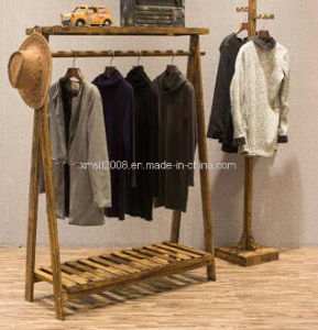 china wooden display stand clothes