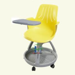 Chair With Wheels Pub Table 4 Chairs China Movable Writing Student Storage Training