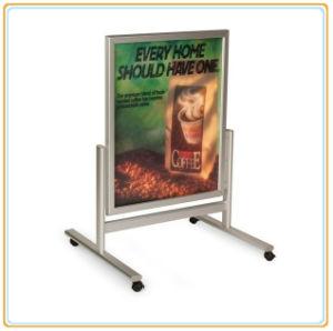 mobile aluminum poster board