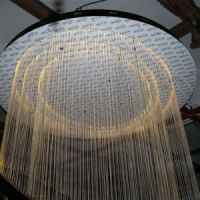 China Hotel Lobby Decorative Hanging Fiber Large Round