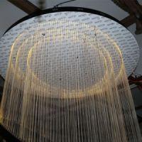 China Hotel Lobby Decorative Hanging Fiber Large Round ...