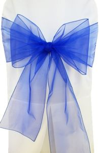 diy organza chair covers chicco portable high reviews china sashes bow cover tulle for weddings events party decoration