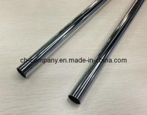 china chrome plated curtain rod pipe