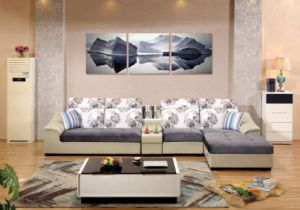 sofa set low cost red leather tufted china modern wholesale market furniture price