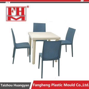 rattan garden chairs and table mid century modern target china plastic injection pp furniture chair mould