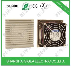 industrial plastic filter with exhaust fan
