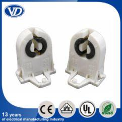 Fluorescent Light Holder Asco 917 Wiring Diagram China T8 G13 Lamp Tube Socket