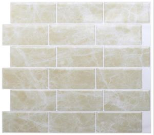 stick on mosaic tile backsplash 3d gel like tiles mirror tiles self adhesive mosaic peel and stick