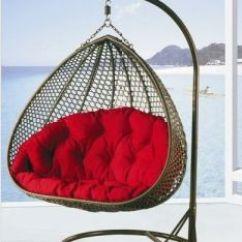 Egg Wicker Chairs Outdoor Living Room Lounge China Rattan Swing Chair Hammocks Hanging Fwe 106 Furniture