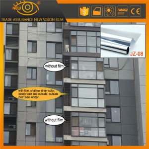 Anti Glare Uv Protection Decorative Building Window Film