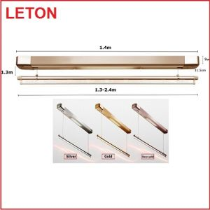 leton small laundry system single rod retractable mini clothes drying rack with best price
