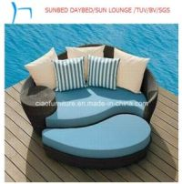 China Rattan Pool Furniture Lounge Outdoor Daybed - China ...