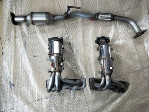 toyota camry exhaust manifold catalytic converter from ningjin xugang autoparts