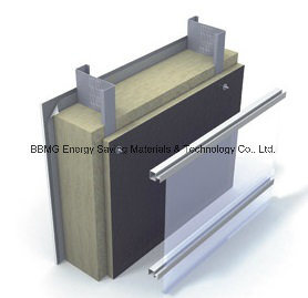 China Curtain Wall Facade Thermal Insulation Rock Wool