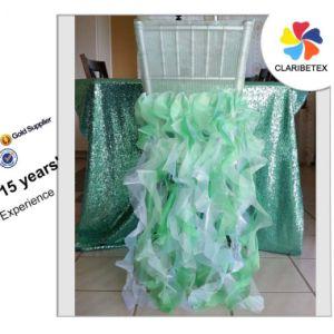 chair back covers wedding papasan measurements china ruffle organza chiffon sash cover