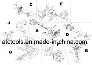 China Chainsaw Spare Parts for Stihl Ms070 Gasoline