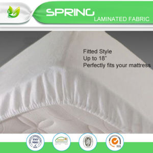 Queen Size Soft Touching Cotton Terry Deep Pocket Mattress Protector Life Time Wary