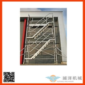 China Ringlock Scaffolding System Removable Exterior Stair | Detachable Banister And Stair Hand Railing | Stair Case | Half Wall | Modern | Traditional | Mezzanine