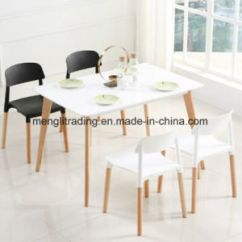Dining Chairs Italian Design Menards Lawn For A Penny China Modern Wood Legs Pp Plastic Restaurant