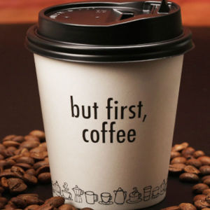 disposable coffee cups drink