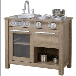 wooden play kitchen clr bath and cleaner